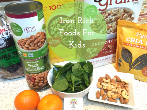 iron foods, children