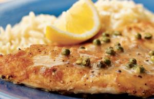 tilapia and lemon, easy family meals