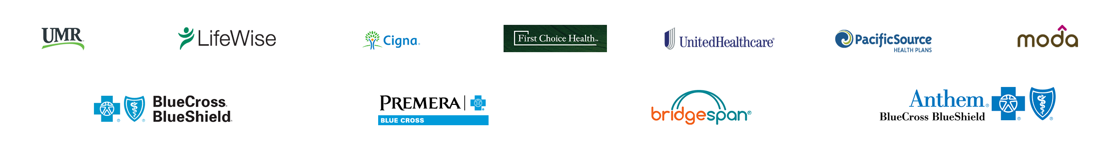 Health Insurances Accepted
